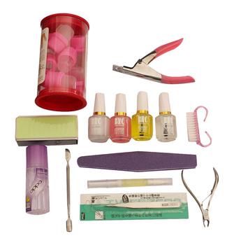 Nail art set nail art finger tools toiletry kit nail art supplies nursing care nail polish oil set