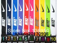 Hot 120pcs Sports logo Lanyard for cell phone key chain Team lanyard DHL Free shipping
