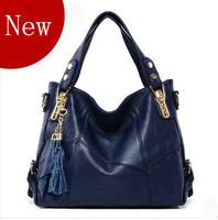 2013 women's handbag fashion casual tassel bag handbag big women's cross-body bags