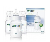 Original AVENT Baby Feeding Bottle / Nursing Bottle / Milk Bottle Feeding 9oz 260ml 2 Piece / Pack Brand New