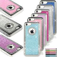 100pcs/Lot dhl free shipping Colorful Bling Matte Chrome Brushed Aluminum Chrome Hard Case Cover For iPhone 5C C +Pen