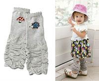 baby Leg Warmers  new style cotton cabin knee socks hedgehog mushroom style