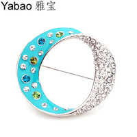 Yapolo rhinestone brooch exquisite brooch corsage brooch beautiful brooch a0233