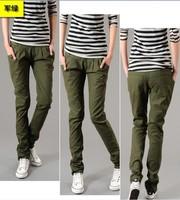 3xl waist 100 104cm hip 120cm Plus size clothing spring summer autumn pants harem casual long trousers jeans