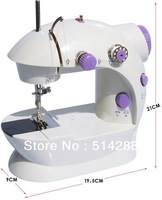 Hot sale!!!202 Electrical auto Style Mutil-function Mini Sewing machine.Free Shipping!!!!Tailor's necessary