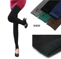 2013 autumn women's repair step pants female plus velvet bamboo charcoal thickening legging trousers