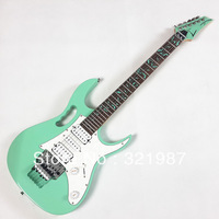 New Arrival!!! JEM 70V Electric Guitar, Sea Foam Green, Vine Inaly, 7V Guitar, Wholesale and Retail