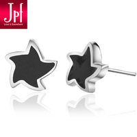 Jpf stud earring 925 pure silver stud earring male stud earring stud earring male accessories birthday gift