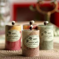 Romantic wedding candle birthday candle cylinder fruit aroma fresh 4 flavor
