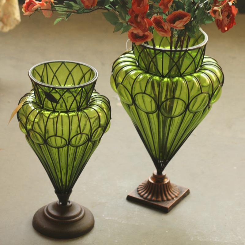 Online kopen wholesale antieke glazen vazen uit china antieke glazen vazen groothandel - Mode decoratie ...