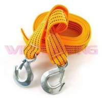 4M 5Tons Tow Rope Tow Cable Towing Rope With Hooks for Heavy Duty