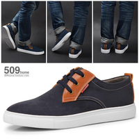 Free shipping fashion quality cloth vamp big size US 5-15 canva sneaker for men from manufacturer