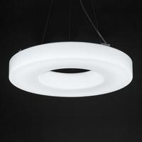 White led modern Pendantg Light Hanging lamp 1 circle personalized restaurant minimalist kitchen Export Quality Good Acrylic New