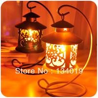 Continental Iron retro, sitting hanging Candle Holder, wedding Ikea style, ornaments, lantern