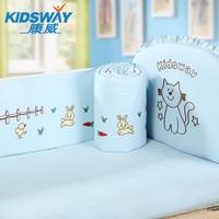 100% cotton baby bedding piece set baby bed around 100% belt cotton child bedding bed sheet