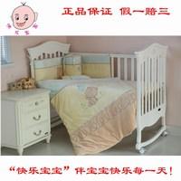 Baby bedding kit 100% cotton baby bedding kit newborn baby bed around quilt