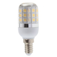 1pcs 2pcs 220V E14 4W 27 SMD 5050 LED Corn Light Lamp Bulb Warm White Energy Saving Hot!