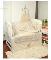 100% cotton baby bedding set piece unpick and wash baby bedding kit baby bed around