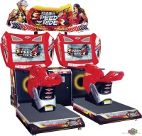 Hyperspeed deluxe edition 32 automobile race machine arcade game machine coin operated amusement machine