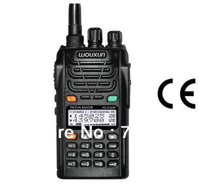 WouXun Dual Band Dual Display KG-UVD1P VHF & UHF two way radio wouxun kg uvd1p walkie talkie 10km Freeshipping Wholesale(China (Mainland))