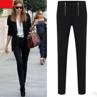 Fall 2013 British leisure pants pants black and white pencil pants leggings haroun pants free shipping