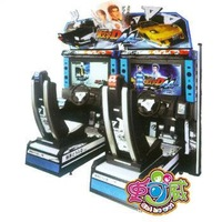 6 automobile race machine caapa simulation machine big game entertainment machine