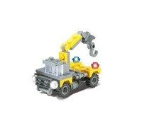 Educational DIY Construction building blocks Crane 8046 Plastic Toy for children H0805 Free shipping