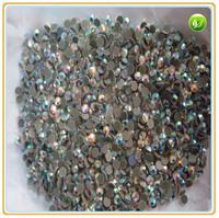 Wholesale - 2 bags (2880pcs) ss12 (3.-3.2mm) CRYSTAL AB color glass rhinestone  DMC HOTFIX RHINESTONES