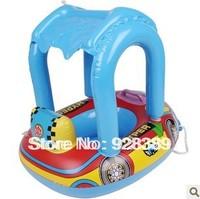 Infant child children thickening baby swim ring cartoon tent seatstay boat w3-2022
