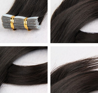 "New method tape hair 5A Quality Tape Remy Human Hair weft 22"" #613, 20pcs/pack ,50g/set 4cm x 1cm, 2.5g/piece straight style"