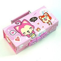 Hyraxes pencil box cute stationery box password lock password box pattern