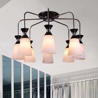 Fashion living room lights circle crystal ceiling light bedroom lamps crystal lighting