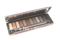High Pigment Professional 12 Color Naked Eyeshadow Mineral Makeup Eye Shadow Palette Free Shipping