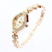 Hot Free Shipping Wholesale Watches Rose Gold Woman Luxury Wintersweet Rhinestone Bracelet Watch