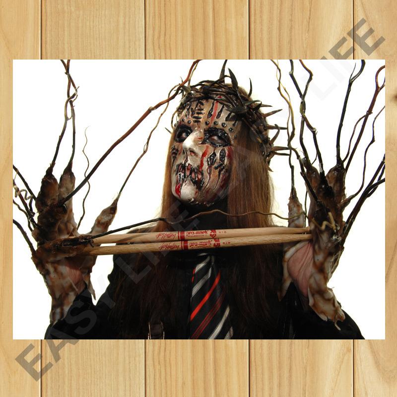 Slipknot Joey Without Mask Joey Jordison 001 Slipknot