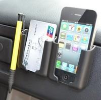 Auto supplies car phone mobile card holder vehicle glove bags box car gps pda iphone case storage accessories