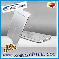 Free Shipping IWO P28S  Power Bank 5600 mah External Battery Charger