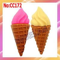 Wholesale 2013 new 1GB to 64GB ice cream usb flash memory pen drive 64GB with real capacity,16GB usb flash #CC172