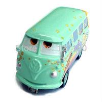 100% original Free Shipping! Pixar cars 2 FILLMORE diecast figure TOY  # 36 NEW Volkswagen vans