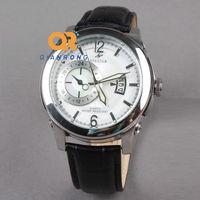 TOP Genuine Cowhide Leather strap watches Men's Casual Business quartz watches Women Dress Watches Elegant fashion design