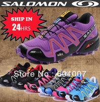 No.1 Sale New WOMEN's salomon hiking women zapatillas free shipping salomon women Running Shoes, size 36-40