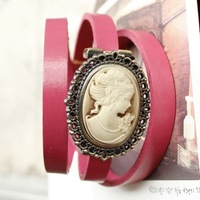 Hot Free shipping wholesale 2013 vintage watches leather ladies cow genuine for women fashion short hair