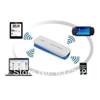 Portable USB Wireless WiFi 3G Hotspot Router WCDMA/GSM 1800mAh Powerbank