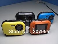 LCD Auto 3MP Underwater Digital Camera 3m Waterproof Camera  8X Digital Zoom