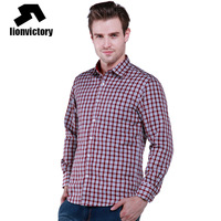 Levey male thermal shirt plus velvet thickening thermal plaid shirt business casual male thermal