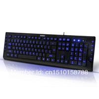usb keyboard KD-600L keyboard backlit keyboard pianbu