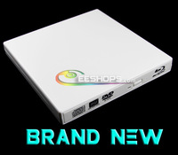 New For Panasonic Matshita UJ-141 UJ141 6X 3D Blu-Ray Player Combo BD-ROM USB 2.0 External Tray Slim DVD RW Burner Drive White