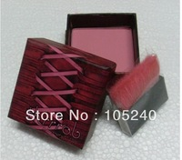 China Post Air Mail Free shipping , New Coralista coral blush for a tropical flush with mirror 2 pcs/lots The wholesale price @@