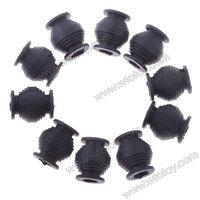 10pcs/lot  High Elastic Anti-vibration Rubber Ball Dampener Dual-head for Gimbal FPV PTZ Black  20528
