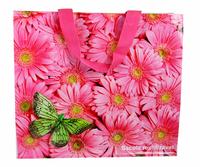 Eco-friendly shopping bag folding bag waterproof yejuhua powder women's handbag fashion female bag
